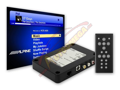 Adaptér - Alpine KCE-425i Bluetooth - iPod®